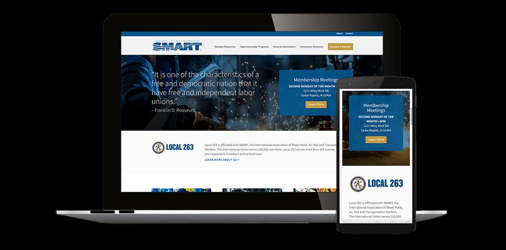 Website Design Cedar Rapids, Iowa
